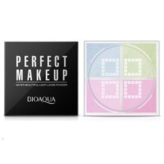 Палетка для коррекции лица BIOAQUA Perfect MakeUp Water Beautiful Light Loose Powder #01